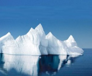 One of the purest sources of water known to man, the iceberg's of the earth's far nor...