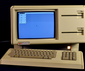 The successor to the Apple II and the predecessor to the Macintosh, the Lisa original...