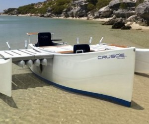 Crusoe Craft & Marine  has developed the lightweight, modular and eco-friendly 18-foo...