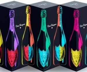 In a colorful tribute to pop icon Andy Warhol, Dom Perignon has just released a line
