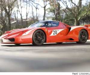 It's not every day that a car like the Ferrari FXX Evoluzione goes up for auction. Or...