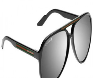 The Italian fashion house Gucci has created stylish 3-D glasses for optimum viewing o...