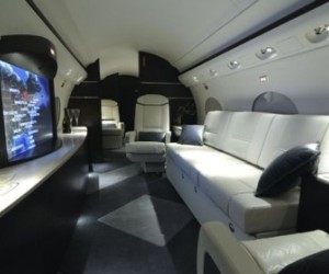 New York-based International Jet Interiors did the installation. The Gulfstream III i...