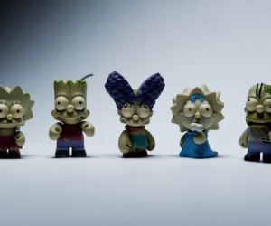 The second release of mini-figures in the highly coveted Kidrobot x Simpsons collabor...