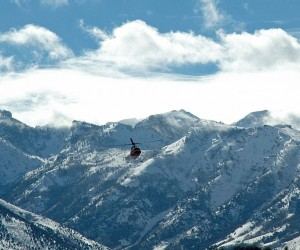 Lake Tahoe Launches Its First Heli-skiing Operation