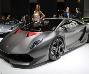 The Lamborghini Sesto Tempo concept unveiled at this year's Paris Motor Show appears