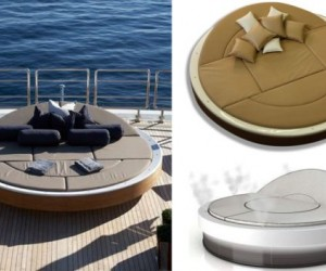 A Solar-powered Lounger For any Superyacht owner.  A must see!