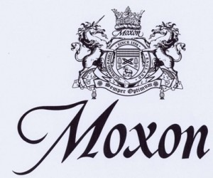 Moxon Huddersfield, an English textile house since 1556, has created  a pair of sock