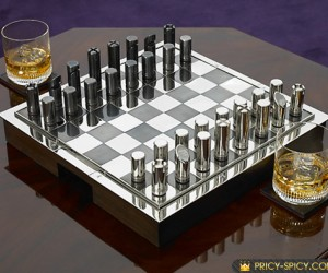A limited edition collectors chess from collaborators Ralph Lauren and Hammond.