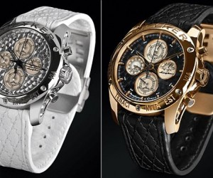Pricing for the limited edition Spyker timepieces starts at $9,750 and can go as high...