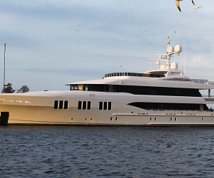 Recently delivered to its owners by Trinity Yachts, the 191-foot Carpe Diem was launc...