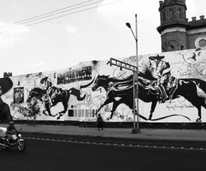 French artist WK Interact took on his largest project to date, a massive mural in Mex...