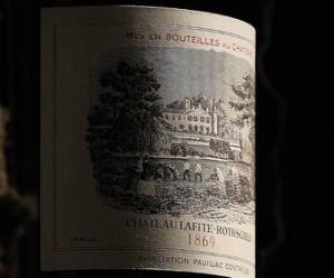 A recent Sotheby's auction in Hong Kong saw an 1869 Château Lafite-Rothschild become