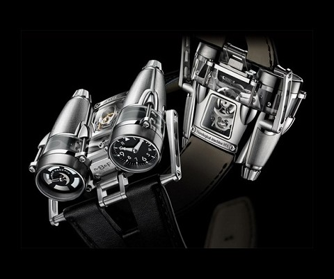 MB&F was recognised at this year's Grand Prix d'Horlogerie of Geneva where its HM4 Thunderbolt picked up the award for Best Concept and Design Watch.