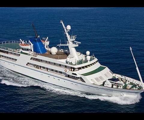 The luxury yacht Ocean Breeze, which was once owned by former Iraqi president Saddam Hussein, has now gone on sale. Iraq's ministry of transportation made the announcement. The dictator's 82m (270ft) yacht comes equipped with many swimming pools, mini submarine, a small theater and a helipad